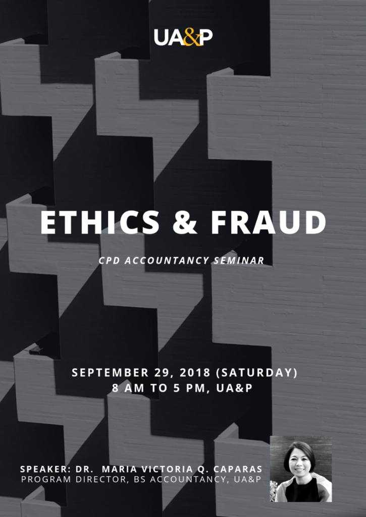 CPD ACCOUNTANCY SEMINAR TO TACKLE ROLE OF ETHICS IN FRAUD PREVENTION 2