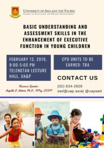 UA&P to begin 2019 with CPD offerings for teachers